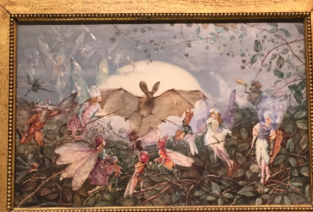Fairy Hordes Attacking a Bat , John Fitzgerald, British, 1832-1906