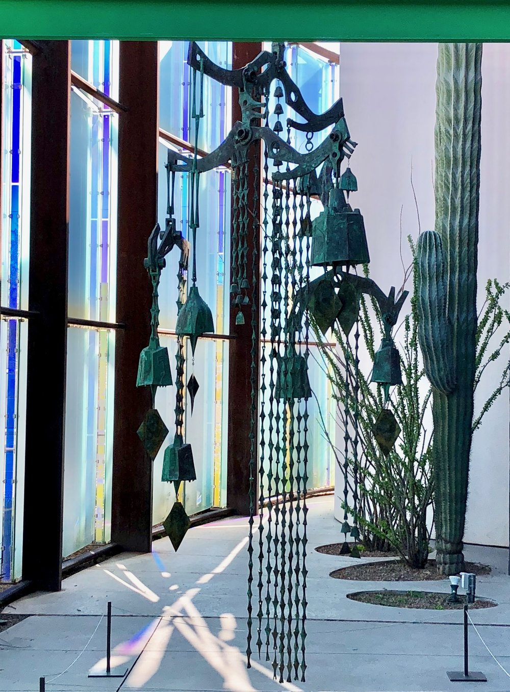 Soleri Bells at SMOCA, Scottsdale