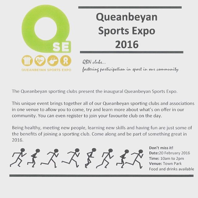Queanbeyan Sports Expo! QUHC will be there from 10am! Come down and say Hi! You can also register for the playing year! 😁🏑💪 #qbnunited #hockey #2620