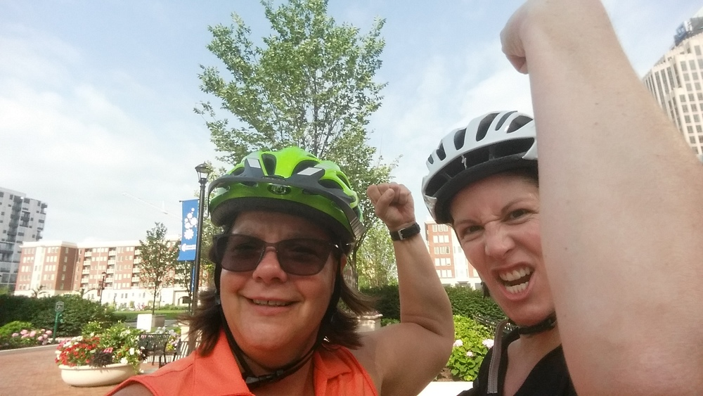 Ride Buddies was a pilot program to help residents and employees in Downtown Columbus replace their work-related car trips with bike trips—and become hardcore badasses in the process.