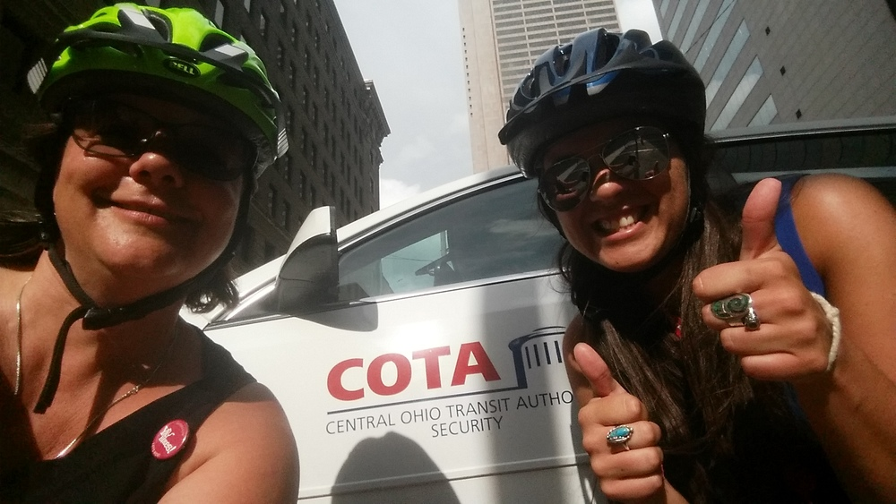COTA and Ride Buddies: a Dream Team if we ever saw one!