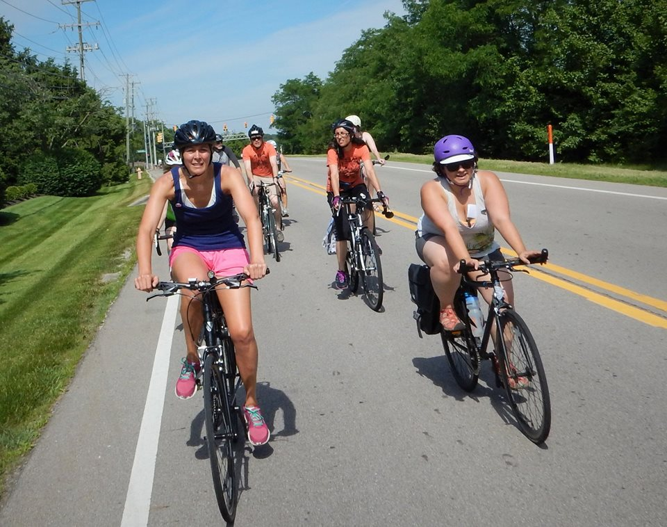T'was a hot hot hot day for a long climb! Photo credit: Keith Lugs