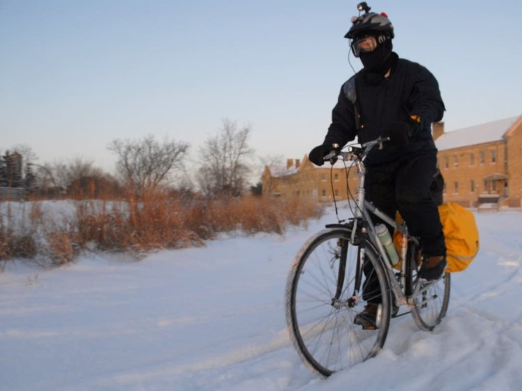 Winter Bike Commuting