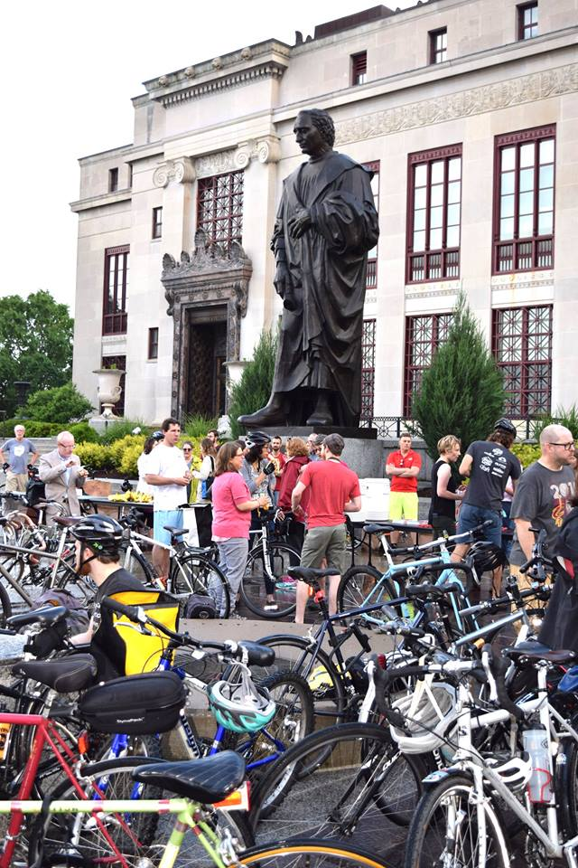 Bike to Work Day 2017. Photo credit: Julie Wonjo