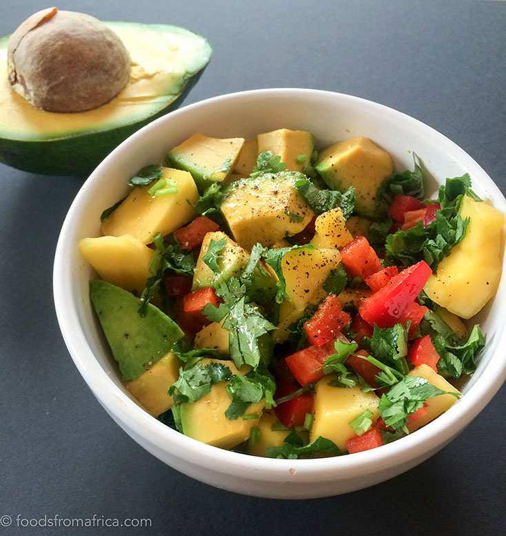 AVOCADO IS DELICIOUS IN THIS AFRICAN SALSA