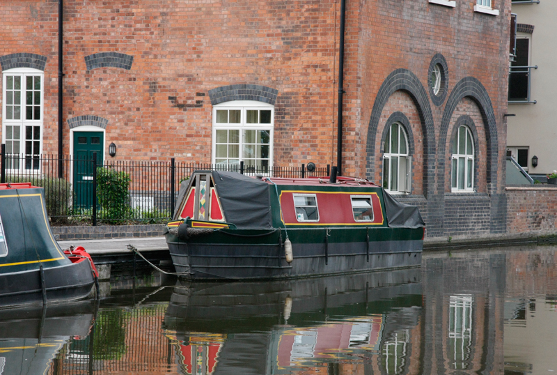 Canal Boat, Sidbury, Worcester