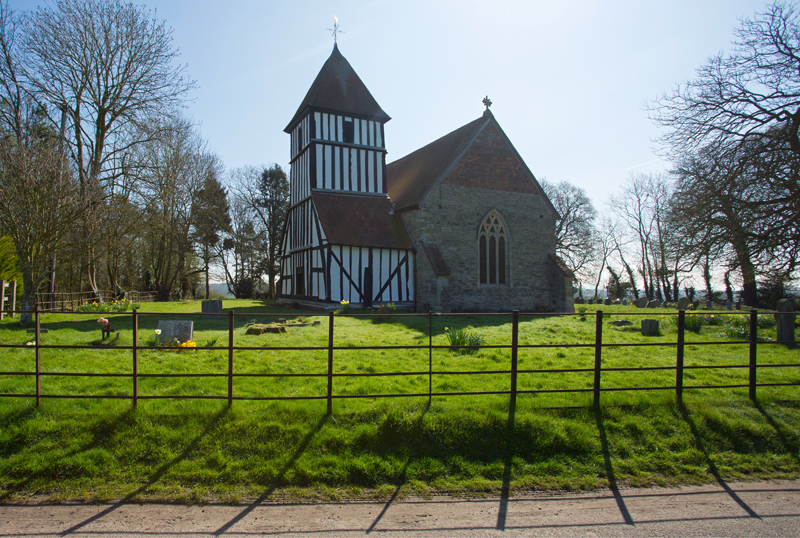 Pirton Church, Worcs