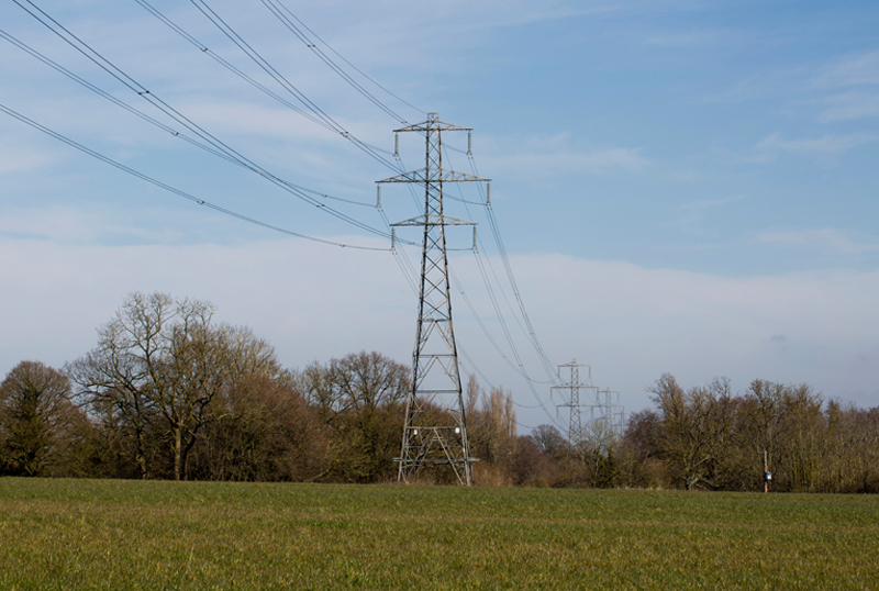 Pylons, Worcestershire