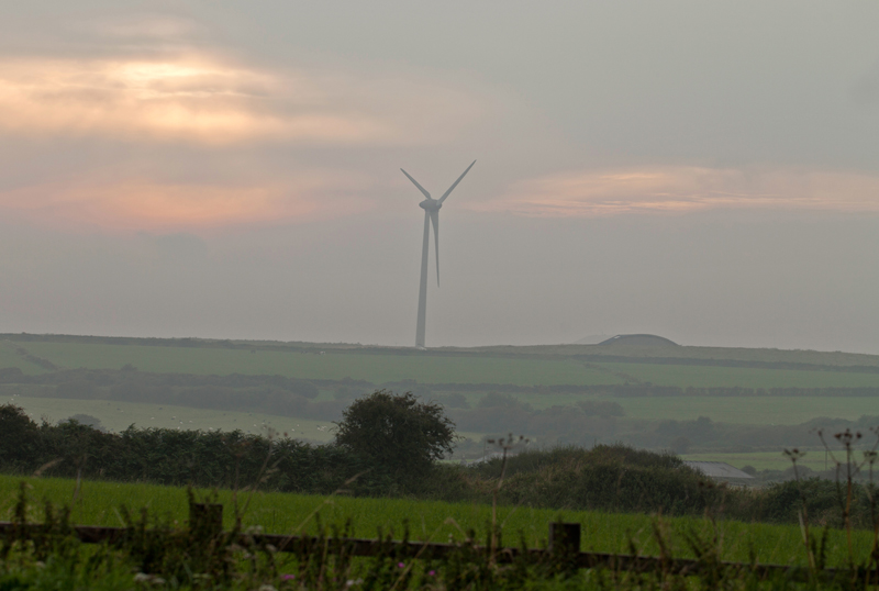 Wind turbine, Cornwall