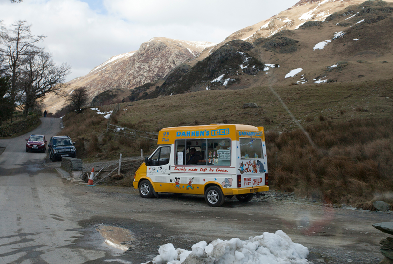 Ice Cream man, Yorkshire!