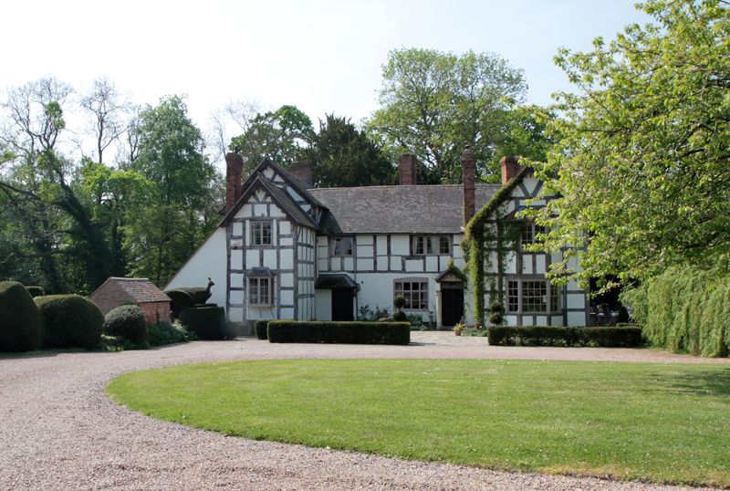 Tudor house, Worcs.