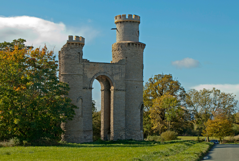 Dunstall Folly, Worcs.
