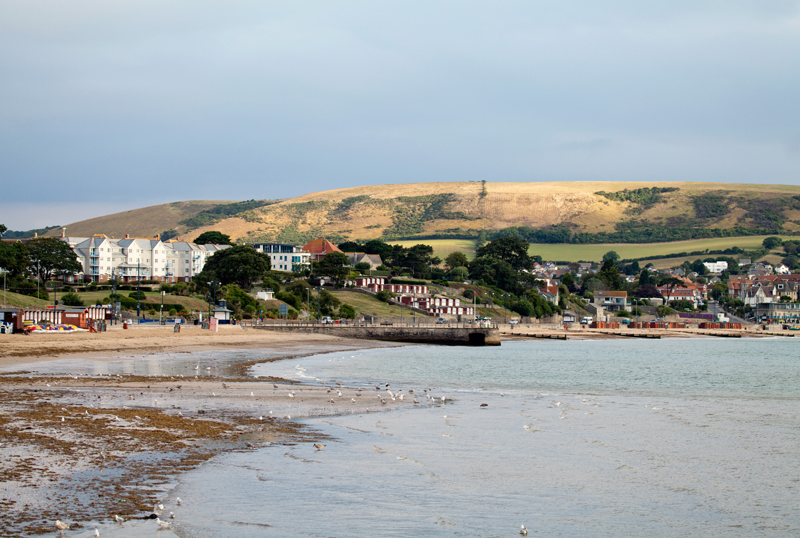 Swanage bay, Dorset