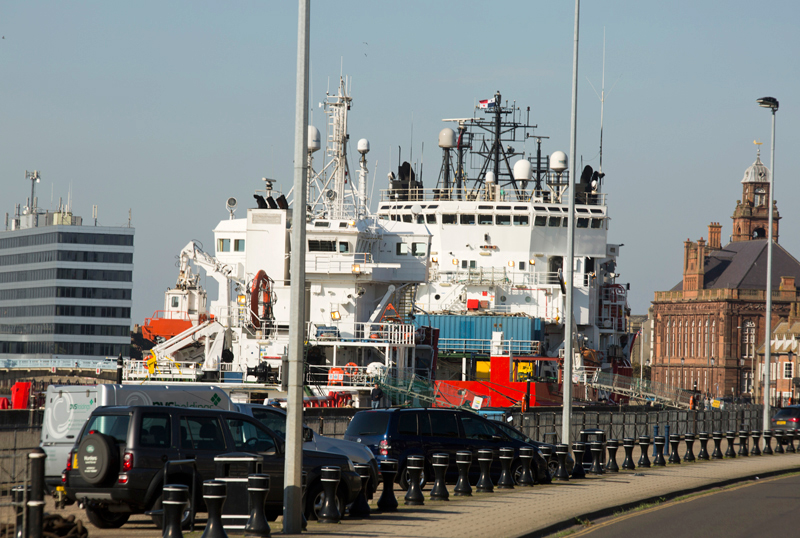 Great Yarmouth Docks, Norfolk