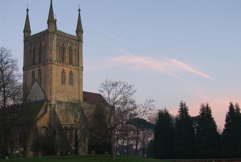 Pershore Abbey, Worcs.