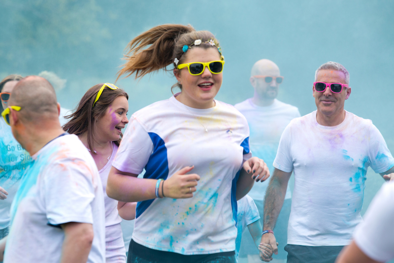 Go Bright For Sight Charity Fun Run 2015