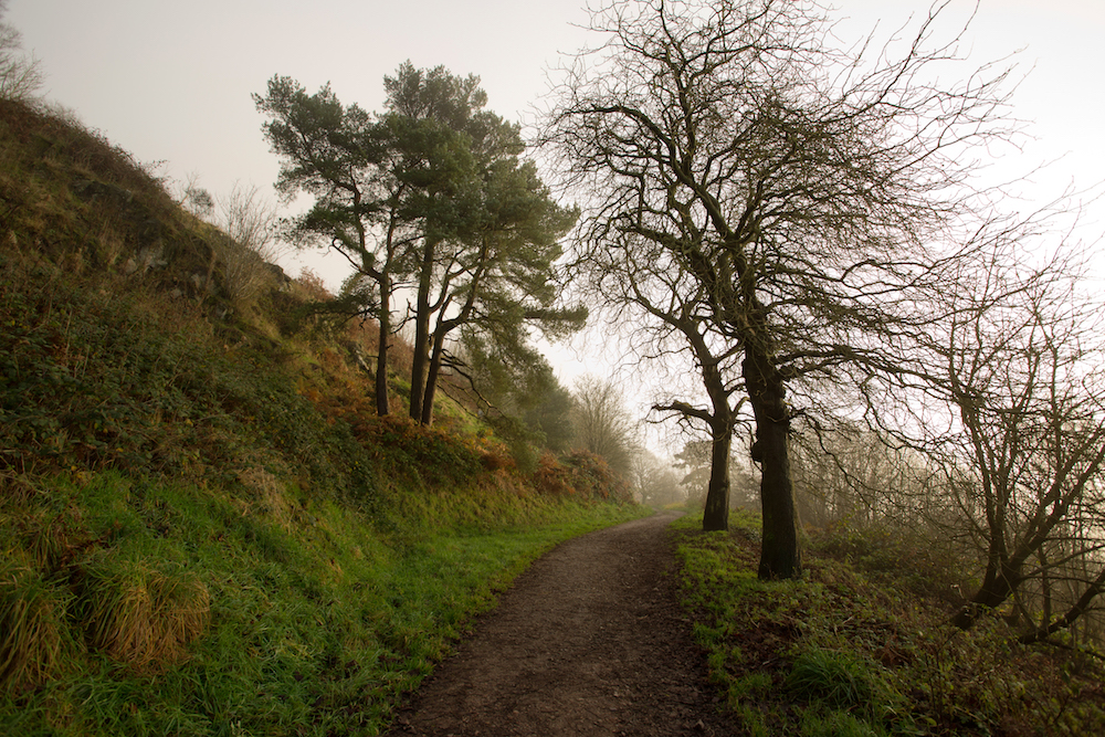 Path around Sugar Loaf Hill, Malvern Hills