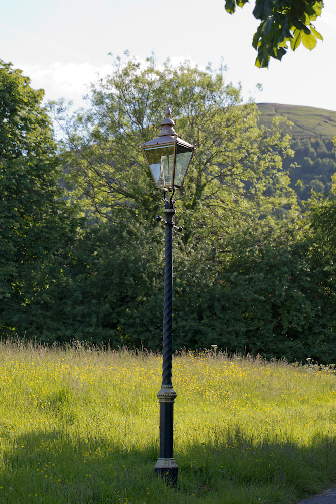 Iconic lamp post, Malvern Link