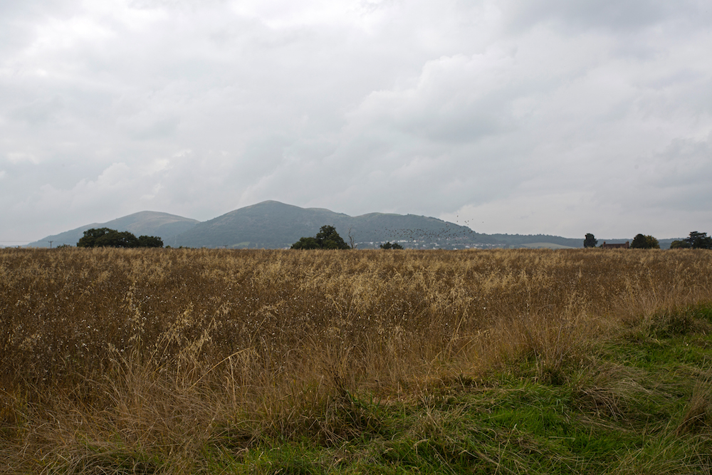 Easterly view of the Malvern Hills from Malvern Link