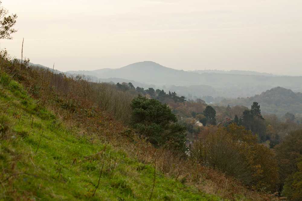 View from West side of the Malvern Hills