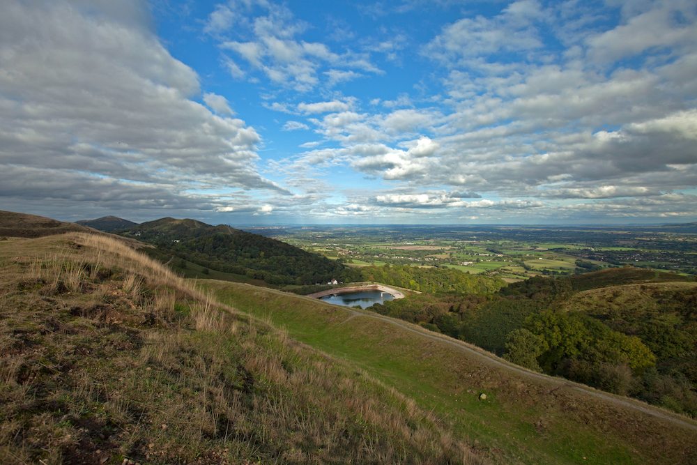 British Camp Reservoir, Malvern Hills