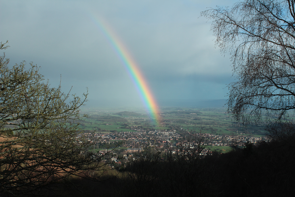 Rainbow over Malvern