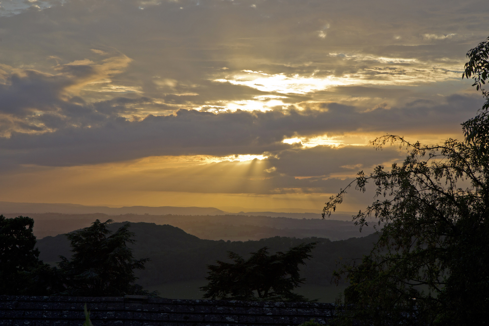 Sunset from West Malvern