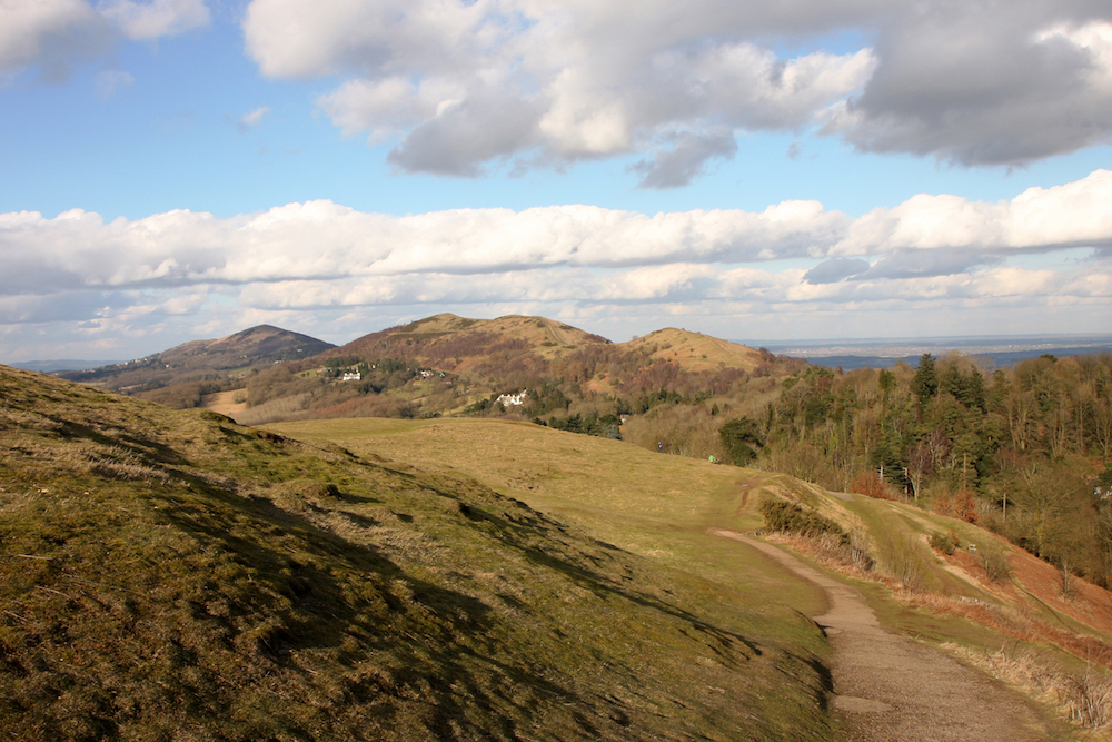 Malvern Hills view from British Camp