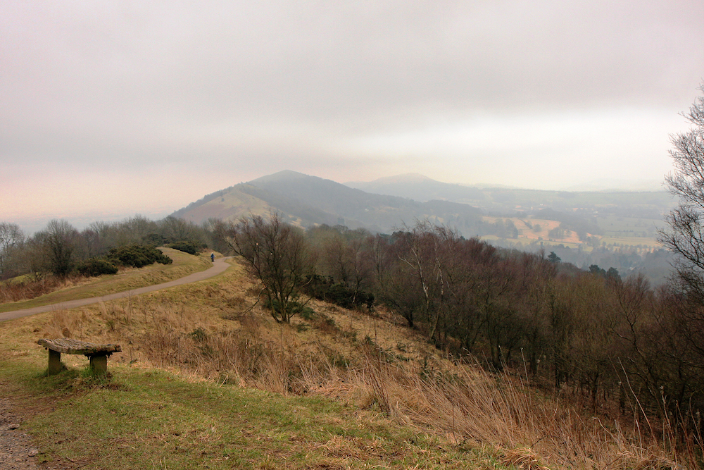 Bench on the Malvern Hills