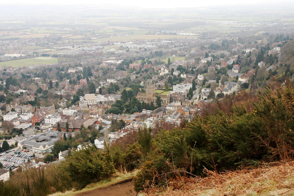View of Great Malvern from the Hills