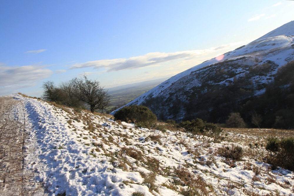Winter View Malvern Hills