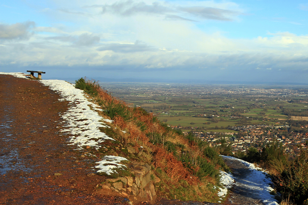 Path around North Hill, Malvern Hills