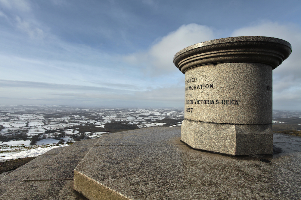 Toposcope on the Worcestershire Beacon
