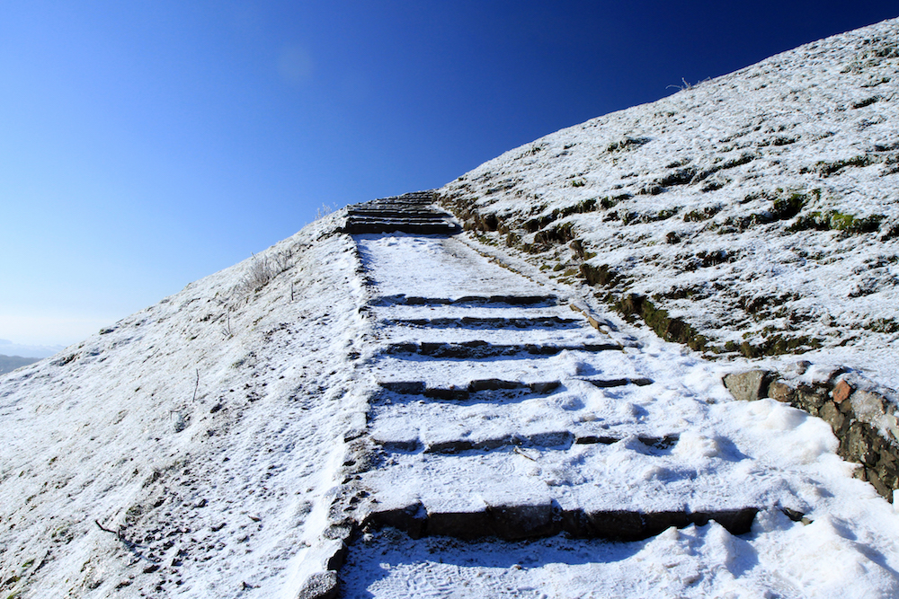 British Camp Steps, Malvern Hills