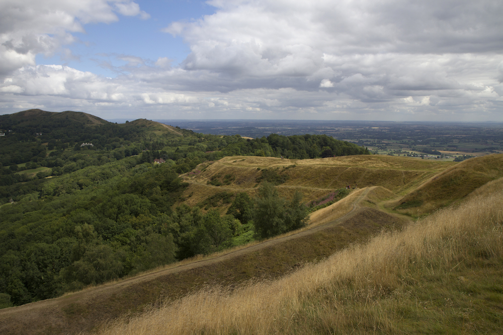 View from British Camp, Malvern Hills