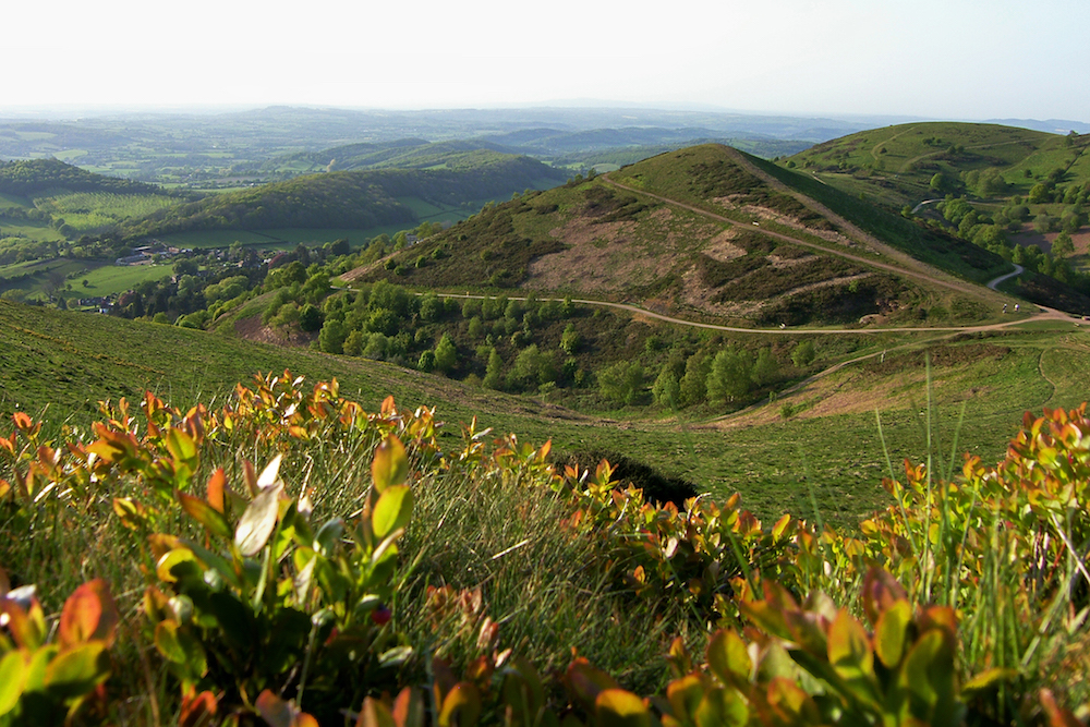 Malvern Hills in Summer