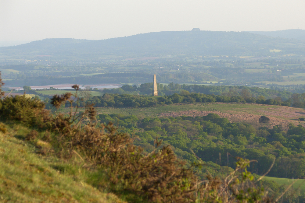 Obelisk at Eastnor, Malvern Hills