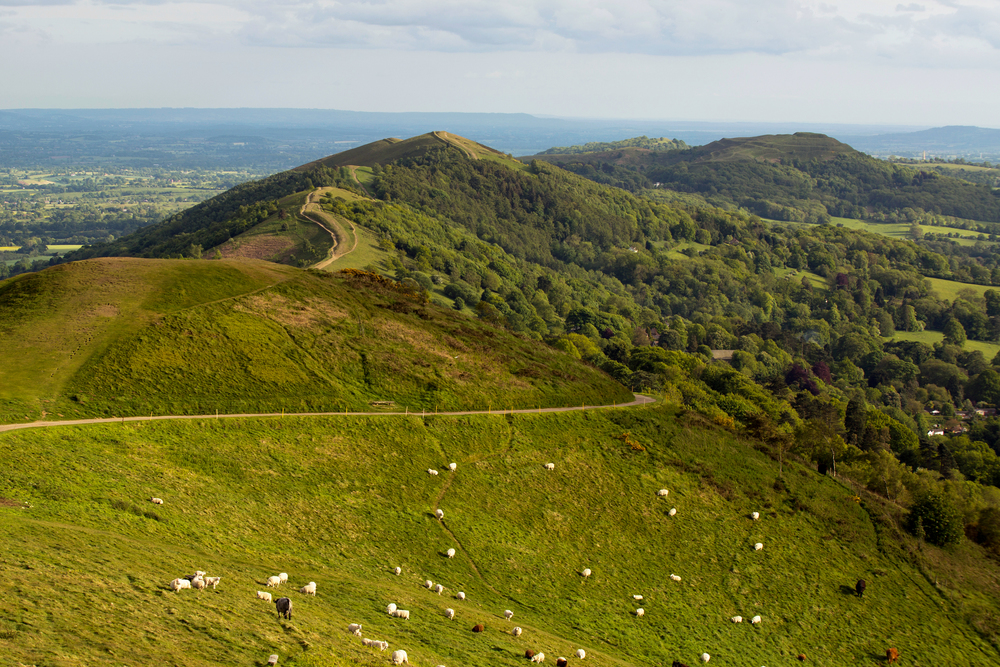 View from the Worcestershire Beacon