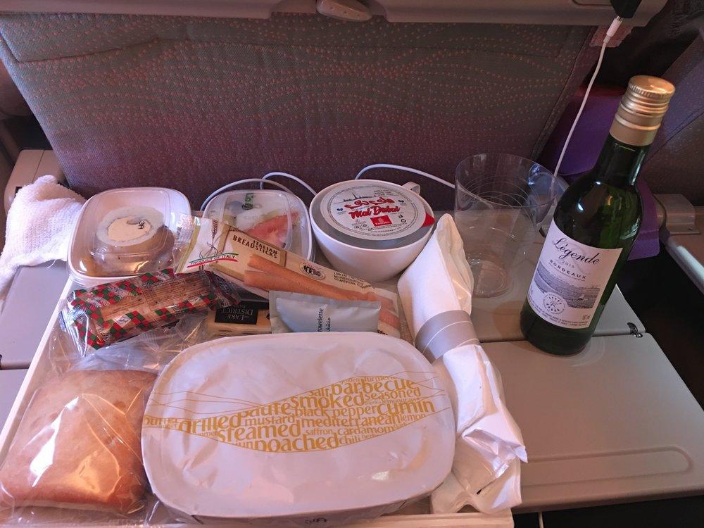 Dinner Emirates style :)