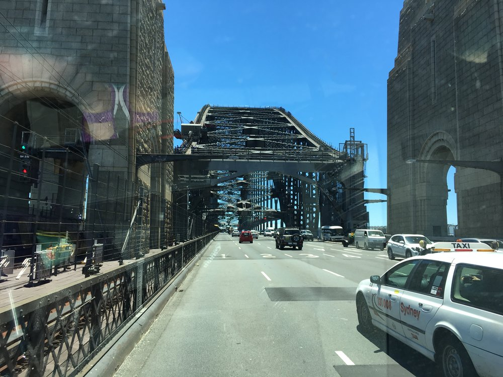 Harbour bridge!