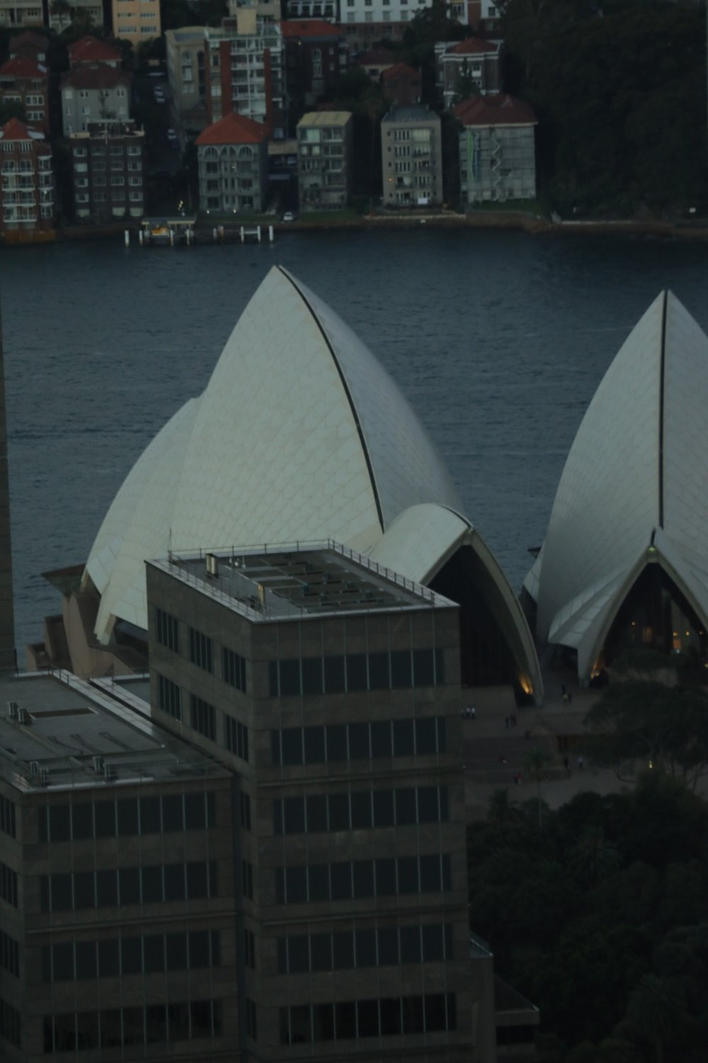 A glimpse of the Sydney Opera House from the Eye Tower