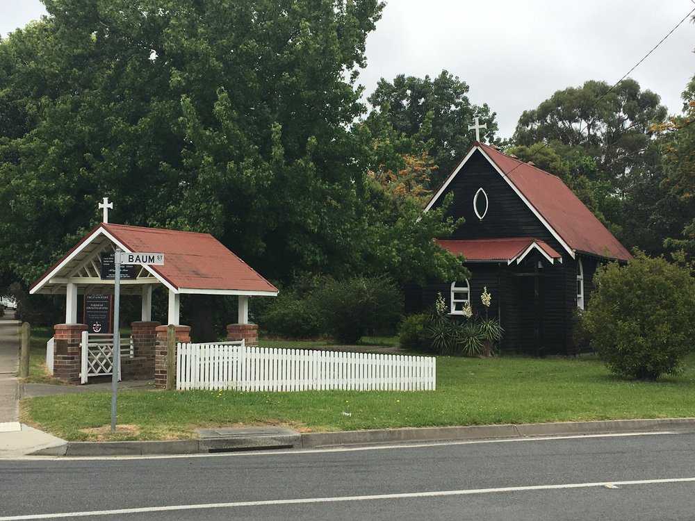 Cute little chapel, Cann River Vic.