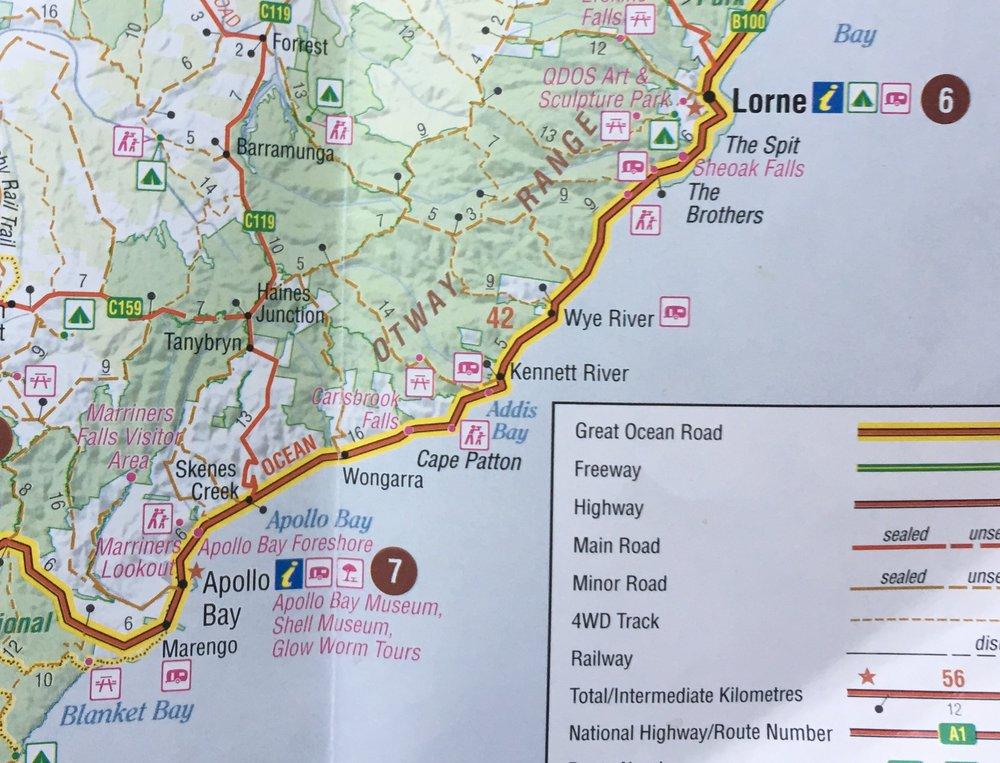 Wye River to Apollo Bay
