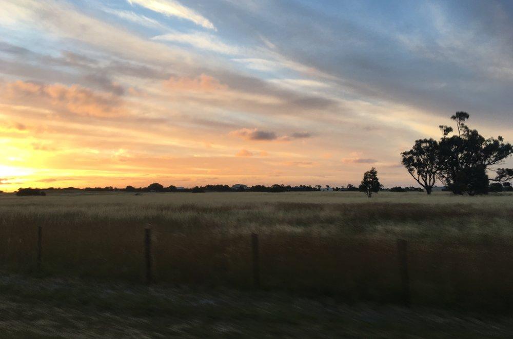 Sunset, SA