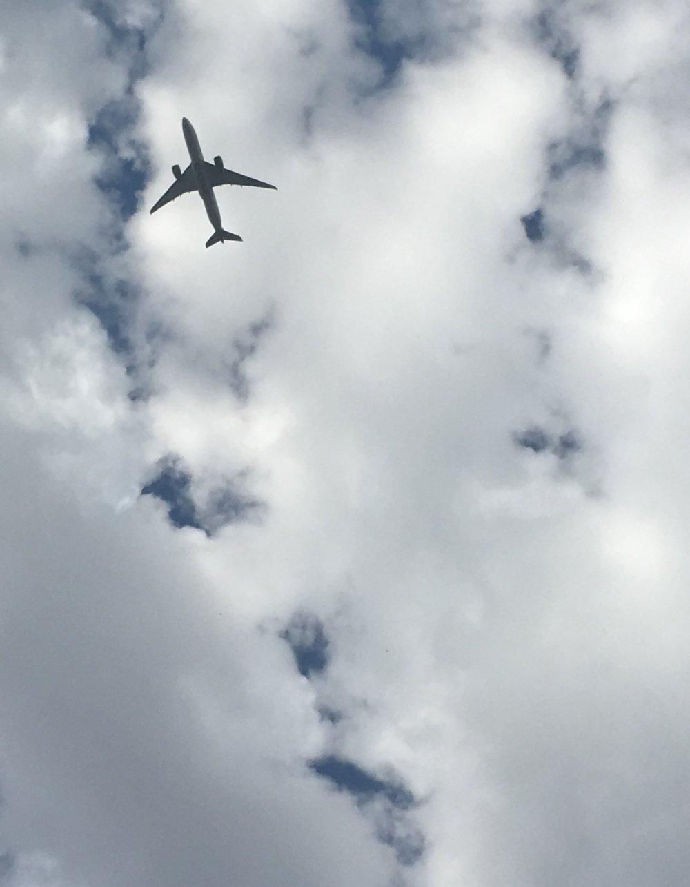 Qatar aeroplane!