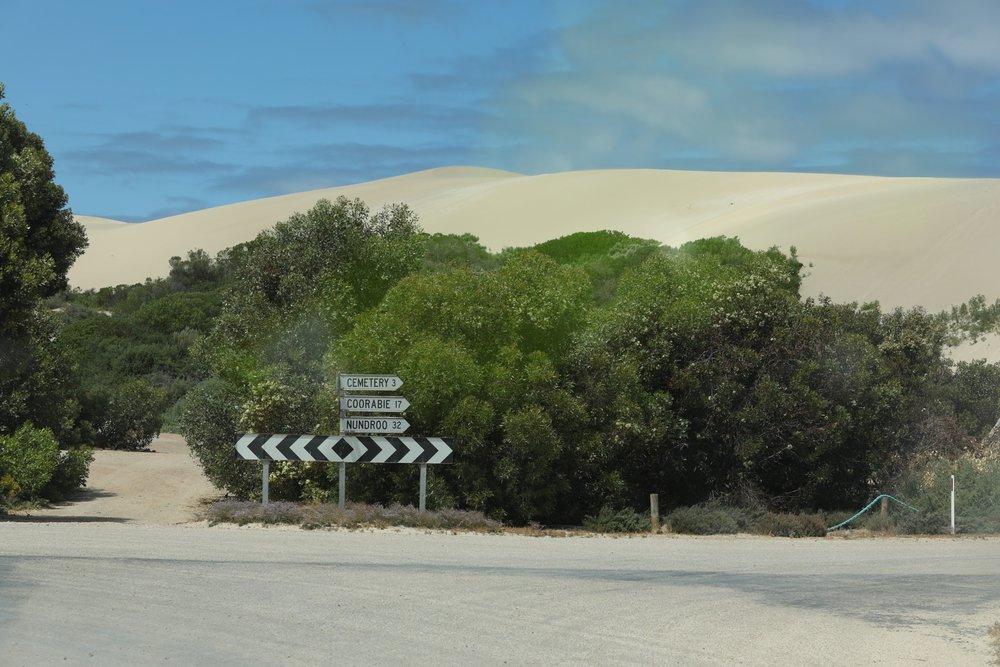 Mountainous sand dunes!