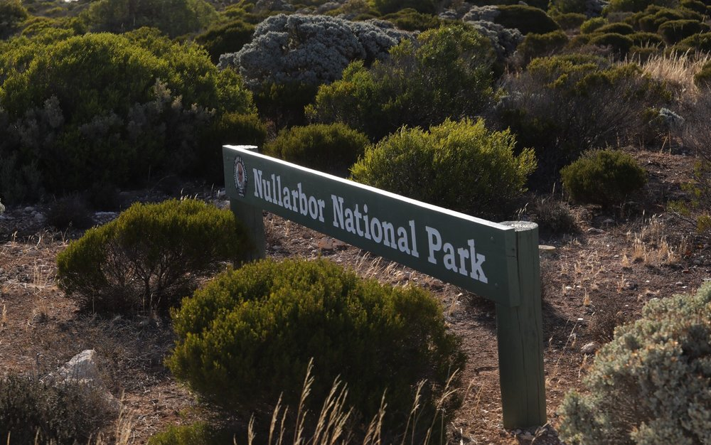 Start of the National Park