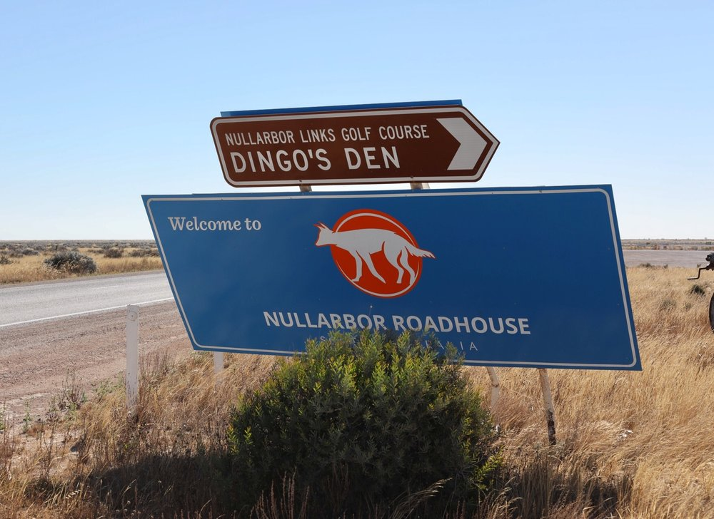 The famous Nullarbor Roadhouse