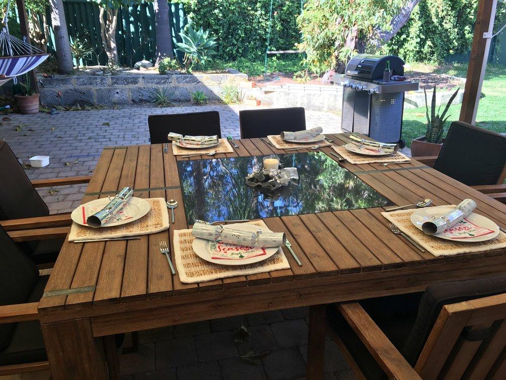 Table ready :)