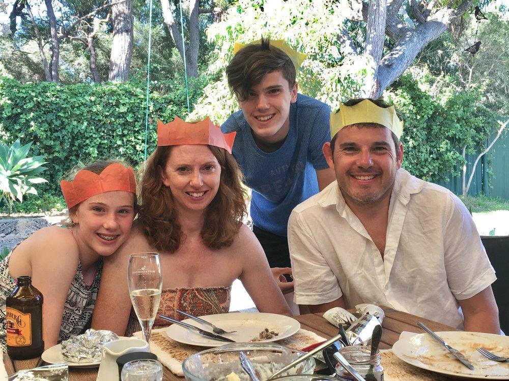 Ella, Claire, Lewis & Jamie